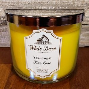 Bath & Body Works Cinnamon Pine Cone Candle
